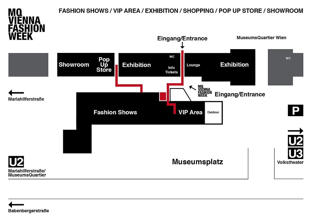 MQVFW Exhibition Map
