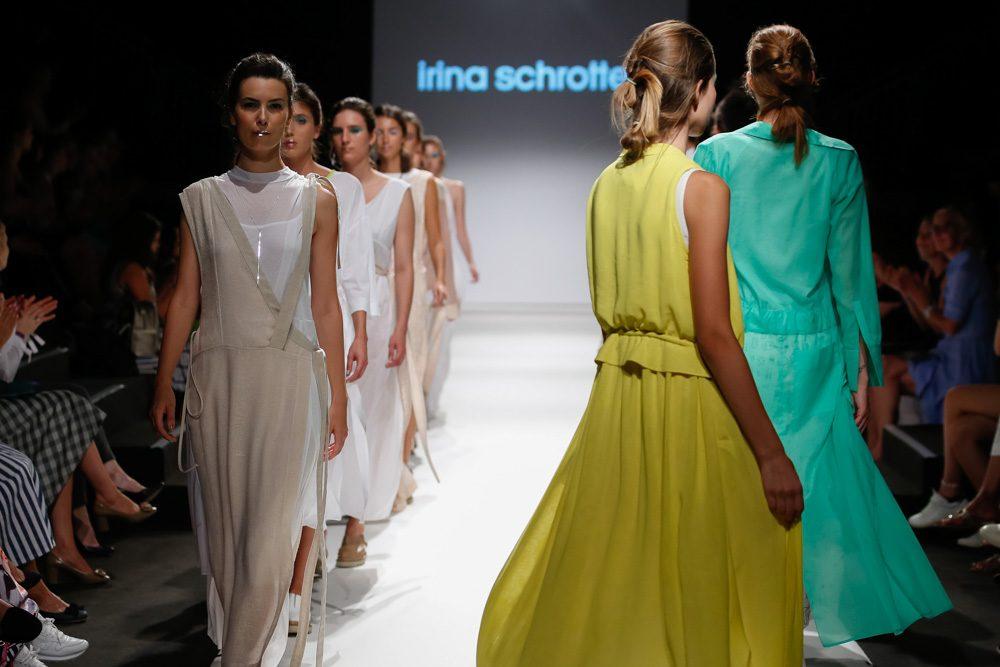 MQ VIENNA FASHION WEEK.18 Irina Schrotter © Thomas Lerch