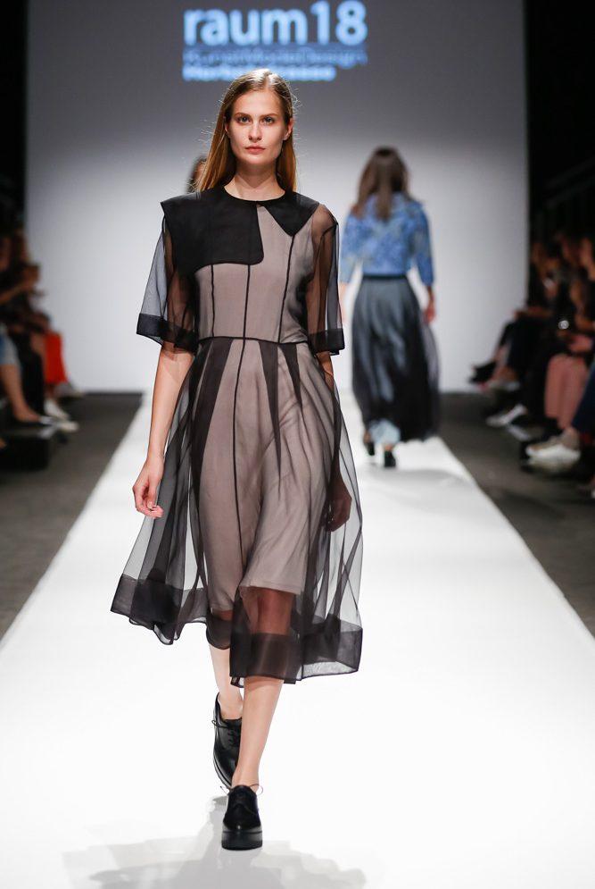 MQ VIENNA FASHION WEEK.18 Modeschule Herbststrasse © Jakob Urwanisch