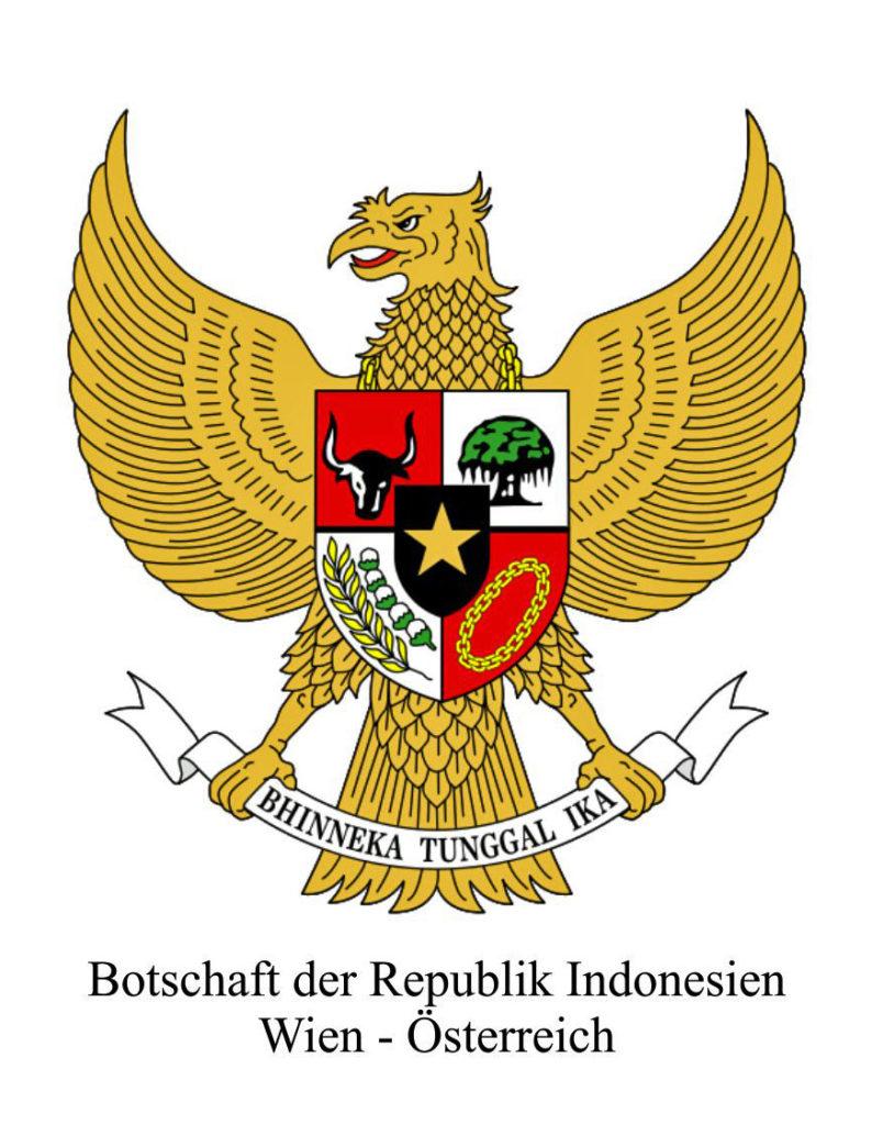 Logo Botschaft Indonesien